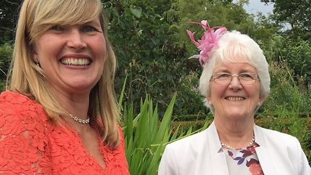 Daughter Rachel has nominated mum Barbara Francis for the Comet Community Awards 2018. Picture: Cour