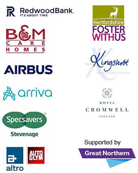 Our sponsors for the 2018 Comet Community Awards. Picture: Archant