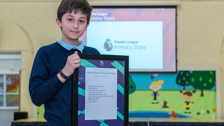 Juan Perea Smith is the East of England winner of a national poetry competition. Picture courtesy of