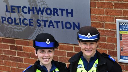 Two new faces will be watching over the streets of Letchworth as PSCOs Natasha Agwin and Laura Bird