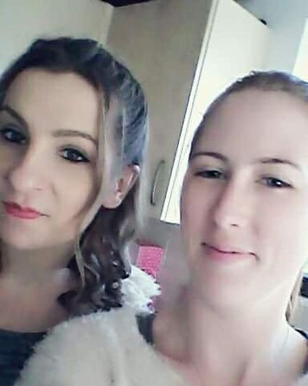 Gemma Mitchell (left) delivered her niece after Lucie (right) quickly went into labour at home. Pict