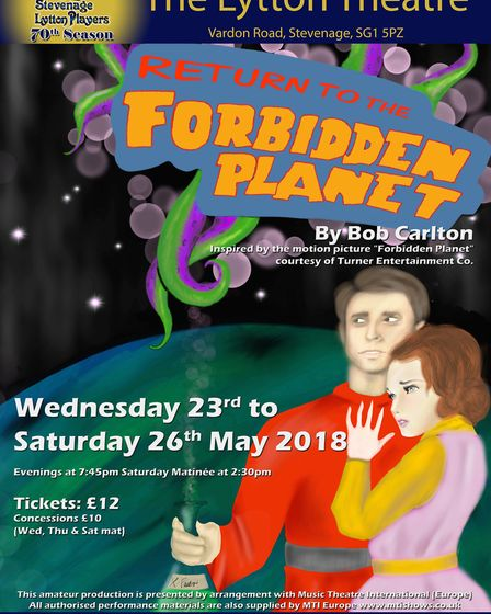 Return To The Forbidden Planet plays at The Lytton Theatre in Stevenage