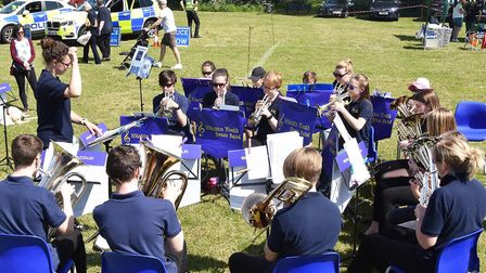 Walsworth Festival 2018: The Hitchin Youth Brass Band. Picture: Alan Millard