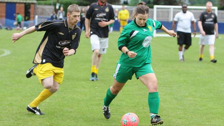Hertfordshire Homeless World Cup 2018: Hitchin Ladies FC vs New Hope.Picture: Karyn Haddon