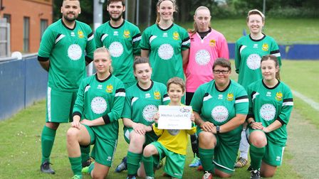 Hertfordshire Homeless World Cup 2018: Hitchin Ladies FC. Picture: Karyn Haddon