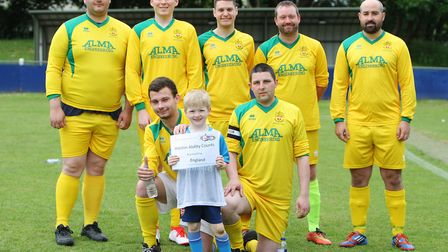 Hertfordshire Homeless World Cup 2018: Hitchin Ability Counts.Picture: Karyn Haddon