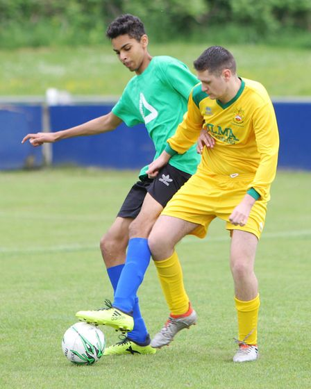 Hertfordshire Homeless World Cup 2018: Challengers vs Hitchin Ability Counts.Picture: Karyn Hadd