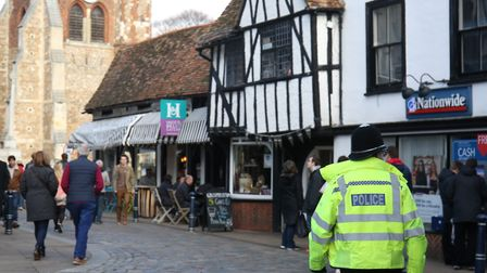 Police are reappealing for witnesses to an alleged assault at the Rose and Crown pub in Hitchin's Ma