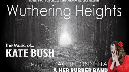 Wuthering Heights - The music of Kate Bush tribute show - Rachel Sinnetta and her Rubber Band