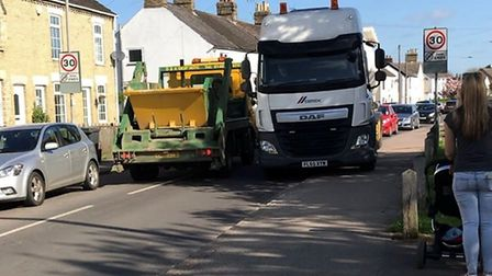 Central Beds Council have said they have been speaking to police about overweight vehicles using Arl