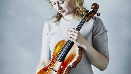 Viola soloist Helen Sanders-Hewitt, who is originally from Hitchin. Picture: Hitchin Symphony Orches