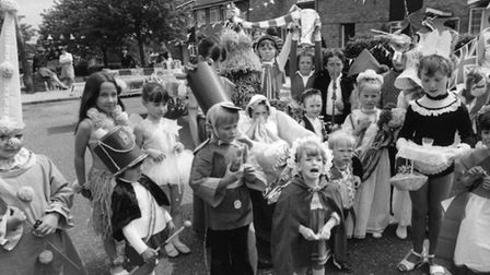 A party in Telford Avenue in Stevenage for the Queen's silver jubilee celebration. picture: Stevenag