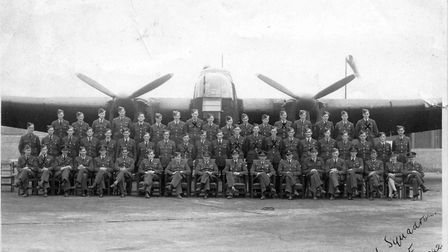 161 Squadron - who landed agents in occupied Europe - photographed at RAF Tempsford. Picture: Suppli