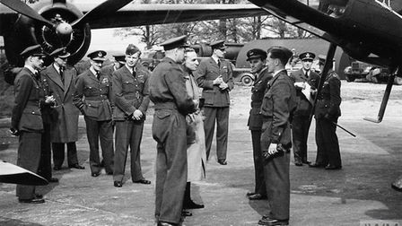 ROYAL AIR FORCE BOMBER COMMAND, 1942-1945. (HU 60540) The Secretary of State for Air, Sir Archibald
