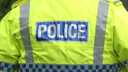 Police have arrested a teenager in Hitchin after claims dustbin collectors were being threatened wit