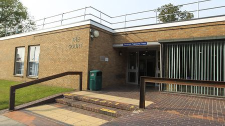 Stevenage Magistrates' Court, where 35-year-old James Sullivan is to be sentenced. Picture: Harry Hu