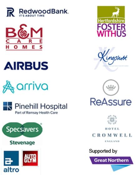 Our sponsors for the Comet Community Awards 2018. Picture: Archant