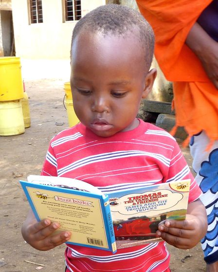 Just Be a Child's libraries are improving children's futures. Picture: Lenka McAlinden.