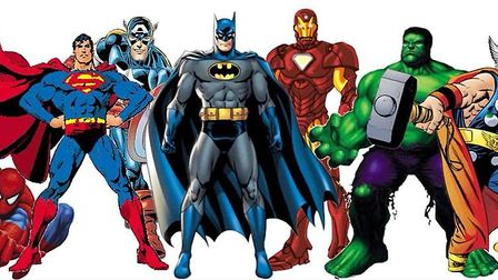 Dress up as your favourite superhero for a chance to win a prize at Letchworth's Jackmans Community