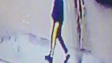 Police want to speak to this person in connection with the robbery in Hitchin. Picture: Herts police