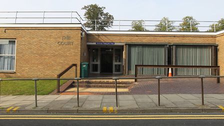 Stevenage Magistrates' Court, where magistrates jailed 34-year-old Daniel French for 16 weeks.