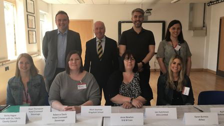 Some of this year's Comet Community Awards judging panel, which was made up of representatives from