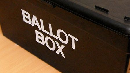 There are local elections today in North Hertfordshire and Stevenage.