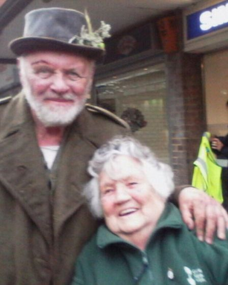 Sir Anthony Hopkins' team got in touch with Edwina to let her know that the show would be airing on