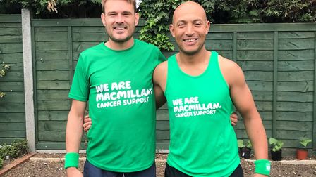 Ashley Pilsworth and Lawren Ellis are planning to run from London to Brighton to raise money for Mac
