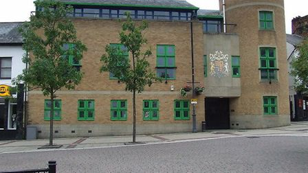 Luton Crown Court, where 32-year-old Nicholas Day is on trial. Picture: Thomas Nugent