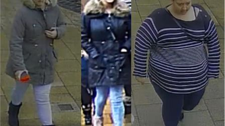 Police would like to speak to three women who could help with the investgation following a purse the