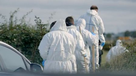The first episode focused on the investigation into the death of Sharon Fade. Picture: Twitter @beds