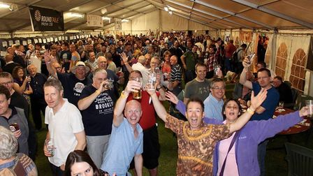 Enjoying the 2017 Hitchin Beer and Cider Festival. Picture: Hitchin Beer and Cider Festival