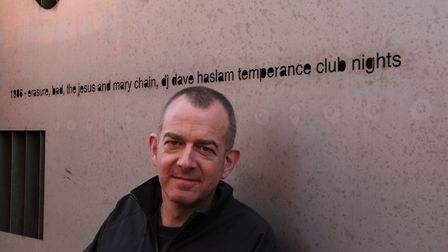 DJ and journalist Dave Haslam will be discussing his new book at David's Book and Music Shop in Letc