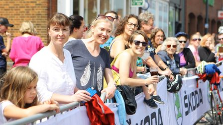 Stevenage Tour Series 2018: Big crowds turned out in Stevenage Old Town.Picture: Karyn Haddon