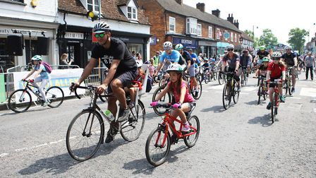 Stevenage Tour Series 2018. Riders of all ages took part.Picture: Karyn Haddon
