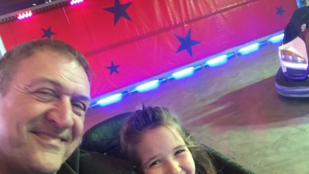 Steve and his daughter had a lovely day with at the Letchworth Food & Drink Festival until he found