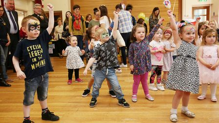 Bedford Road pre-school celebrates its 50th birthday with dancing, cake, face painting and a visit f