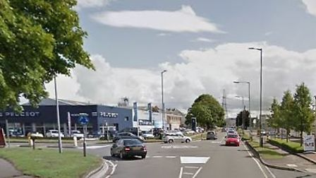 Works Road, Letchworth. Picture: Google.