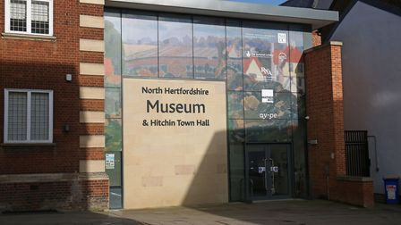 The would-be entrance to North Hertfordshire Museum at 14/15 Brand Street in Hitchin. Picture: Danny