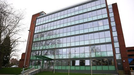 The North Herts District Council offices in Letchworth. Picture: DANNY LOO