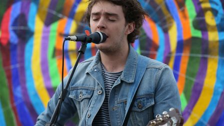 Connor Wells will be performing at Stevenage Day. Picture: Danny Loo