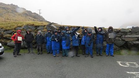 They learnt all about teamwork as well as building independence on their trip to Mount Snowden. Pict