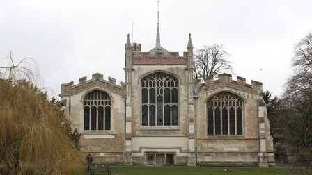 St Mary's Church in Hitchin will be hosting Pop-Up Opera next month. Picture: Danny Loo