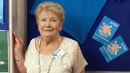 Joan has been volunteering for Sue Ryder since 1996. Picture: Sue Ryder