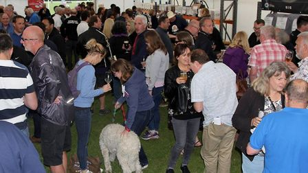 The 2018 Hitchin Beer and Cider Festival has been a huge success. CREDIT: HBF