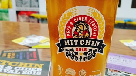 The Hitchin Beer and Cider Festival 2018 has been a huge hit. CREDIT: @comet_layth