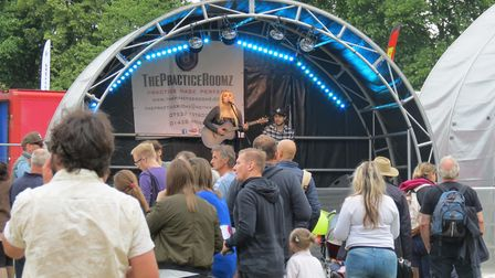 Live music went on from 12pm until 7pm at Stevenage Day. Picture: Stevenage Borough Council