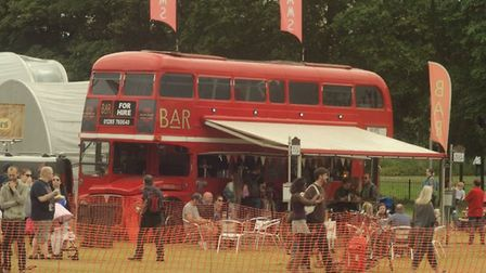 There was a licensed bar at Stevenage Day. Picture: Cave Art Films