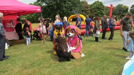 There was plenty of fun entertainment happening at Stevenage Day on Sunday. Picture: Stevenage Borou